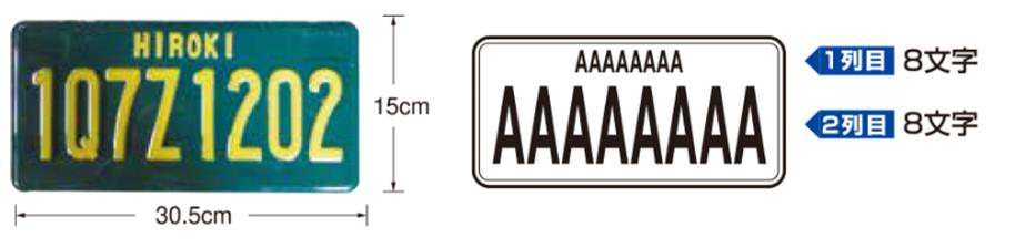 アメリカンナンバープレート